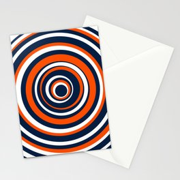 Team Series - Oilers - Circles Stationery Cards