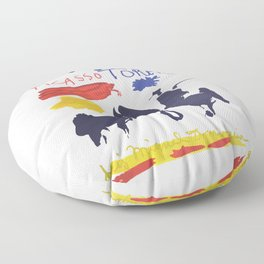 Toros Y Toreros (Bulls and Bullfighters) Artwork By Pablo Picasso T Shirt, Book Cover Floor Pillow