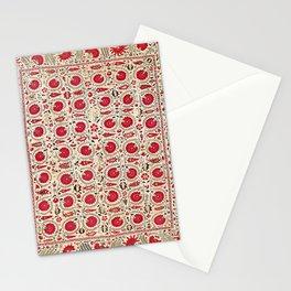 Ura Tube Bokhara Uzbekistan Suzani Embroidery Print Stationery Cards