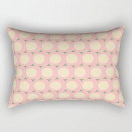 Dots and Triangles Pink  #midcenturymodern Rectangular Pillow