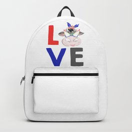 Love Cow Backpack