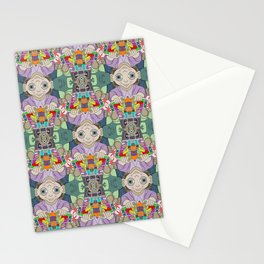 Otto the Grocer tessellation Stationery Cards