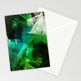 Jungle - Geometric Abstract Art Stationery Cards