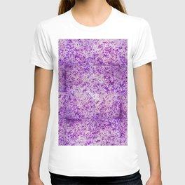 jacaranda floral gradient 0159 T-shirt