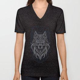 Wolf of North Unisex V-Neck