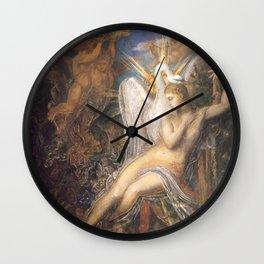 Gustave Moreau - Leda Wall Clock