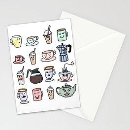 Cafe Friends Stationery Cards