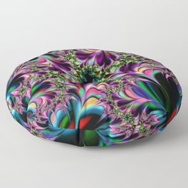 millenium flowers Floor Pillow