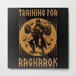 Viking, Viking Ragnarok, Odin Metal Print