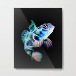 Mandarin Goby (Psychedelic Mandarinfish) Metal Print