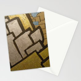 Eiffel tower cubic close up Stationery Cards