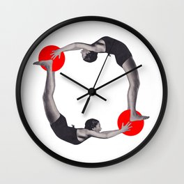 Let's get physical Wall Clock