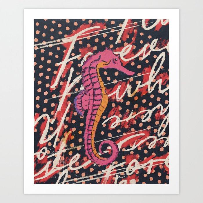 Forever Sea Rindin Art Print