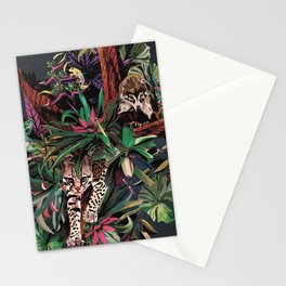 Rainforest corner Stationery Cards