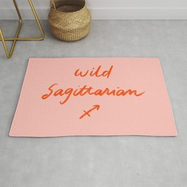 Crazy lovely Sagittarian Rug