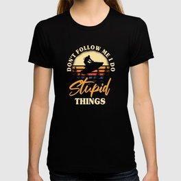 Funny Jet Ski Design T-shirt