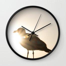 Shine Bright Like A Sea Gull Wall Clock
