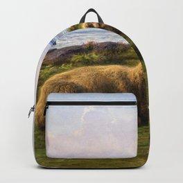 Rosa Bonheur - Sheep By The Sea - Digital Remastered Edition Backpack