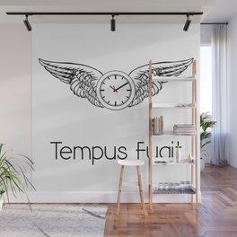 Tempus Fugit Wall Mural