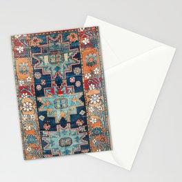 Karabakh  Antique South Caucasus Azerbaijan Rug Print Stationery Cards