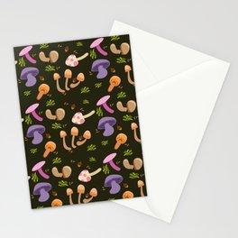 Mushroom Dark Forest Stationery Cards