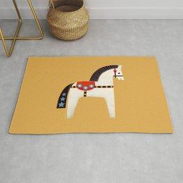 Festive Pony - illustration Rug