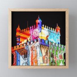 Tower Framed Mini Art Print