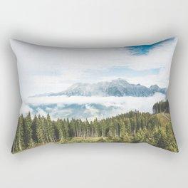 Loferer Steinberge in Asitz Leogang Austria Rectangular Pillow