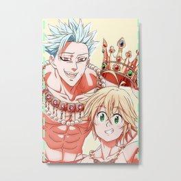 Nanatsu No Taiza Metal Print