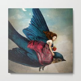 Fairytale Night Metal Print