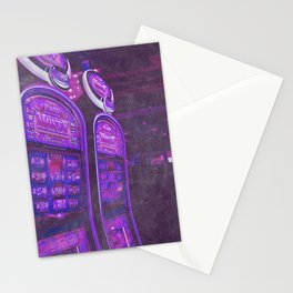 Vegas Nights Stationery Cards
