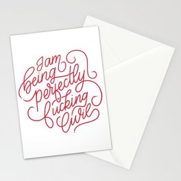 Perfectly Civil Stationery Cards