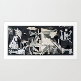 Picasso - Guernica  Art Print