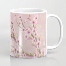 Pink Cherry Blossom Branch Sakura Coffee Mug