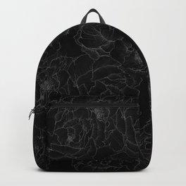 Peony Flower Pattern III Backpack