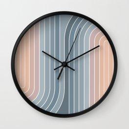 Gradient Curvature V Wall Clock
