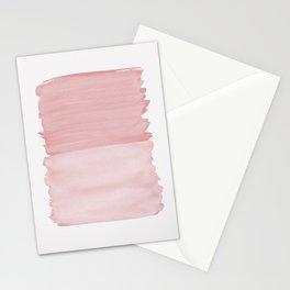 Blush Abstract Minimalism #1 #minimal #ink #decor #art #society6 Stationery Cards