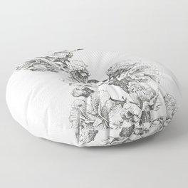 Flower Study Floor Pillow