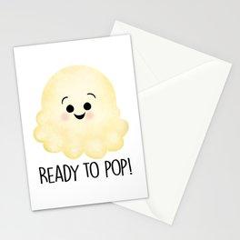 Ready To Pop - Popcorn Stationery Cards