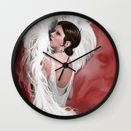 The Flapper Wall Clock