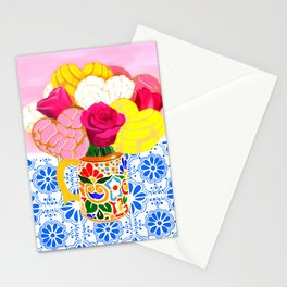 Cafe con conchas Stationery Cards