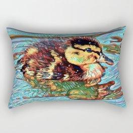 Duckling Dream | Painting Rectangular Pillow