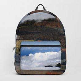 In The Clouds: Heavenly Haleakala Canyons, Hawaiian Volcano Backpack