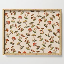 Magical Mushrooms Serving Tray
