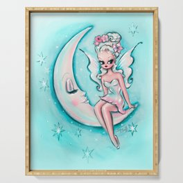 Fairy on the Moon Serving Tray