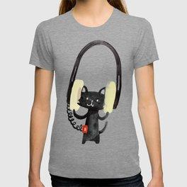 I Love Huge Headphone T-Shirt