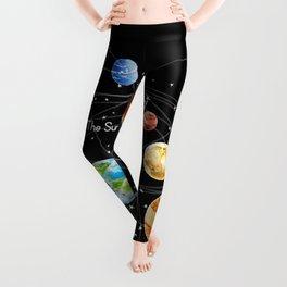 Solar System Leggings