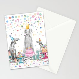 PARTY WEIMS Stationery Cards