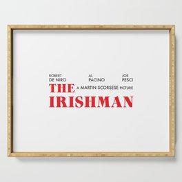 The Irishman Serving Tray