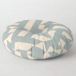 Vanilla Tiles Floor Pillow